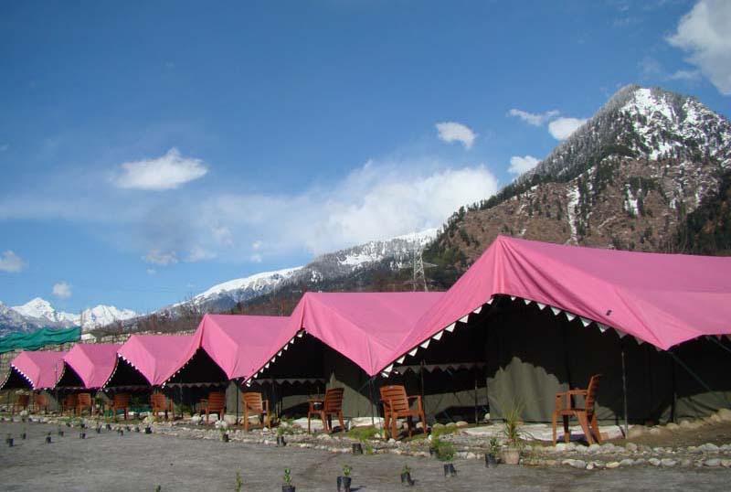 Camps In Manali Adventure Camp In Manali Himachal Pradesh