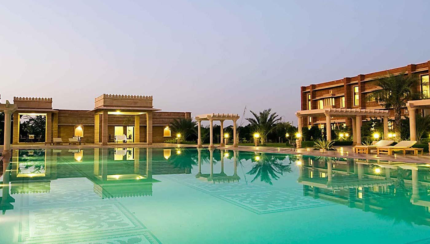 Samsara luxury camp jodhpur samsara dechu camp resort for Luxury hotel company