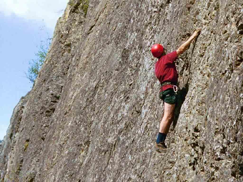 Rock Climbing in Rishikesh Rock Climbing is an Activity